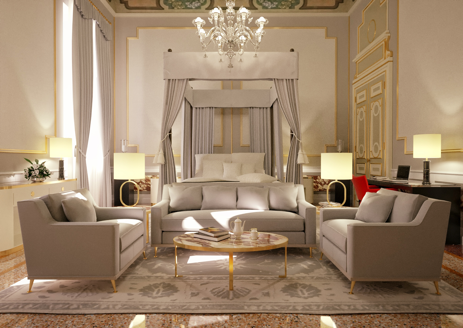 Front page fulfaro partners for Design hotel venise